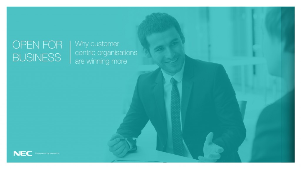 NEC Customer Experience Slideshare Infographic