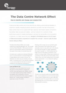 Nextgen Group - Data Centre Network Effect
