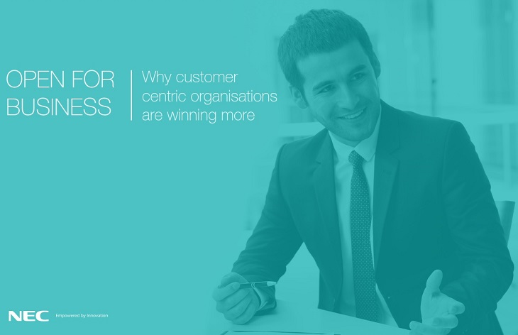 NEC Customer Experience Slideshare Infographic Cover