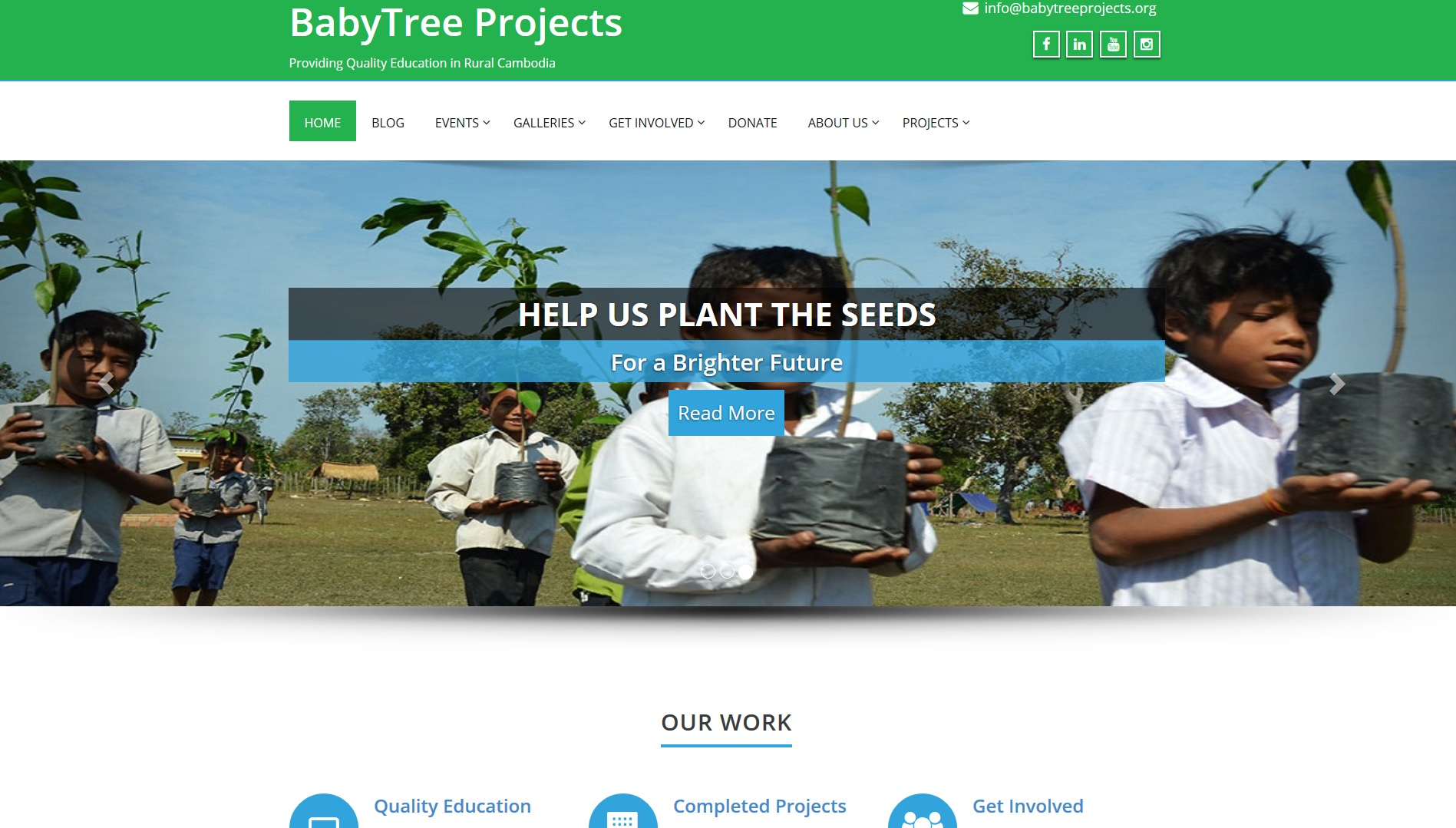 BabyTree Projects Website