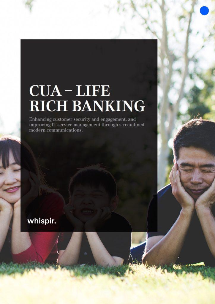 Credit Union of Australia Case Study