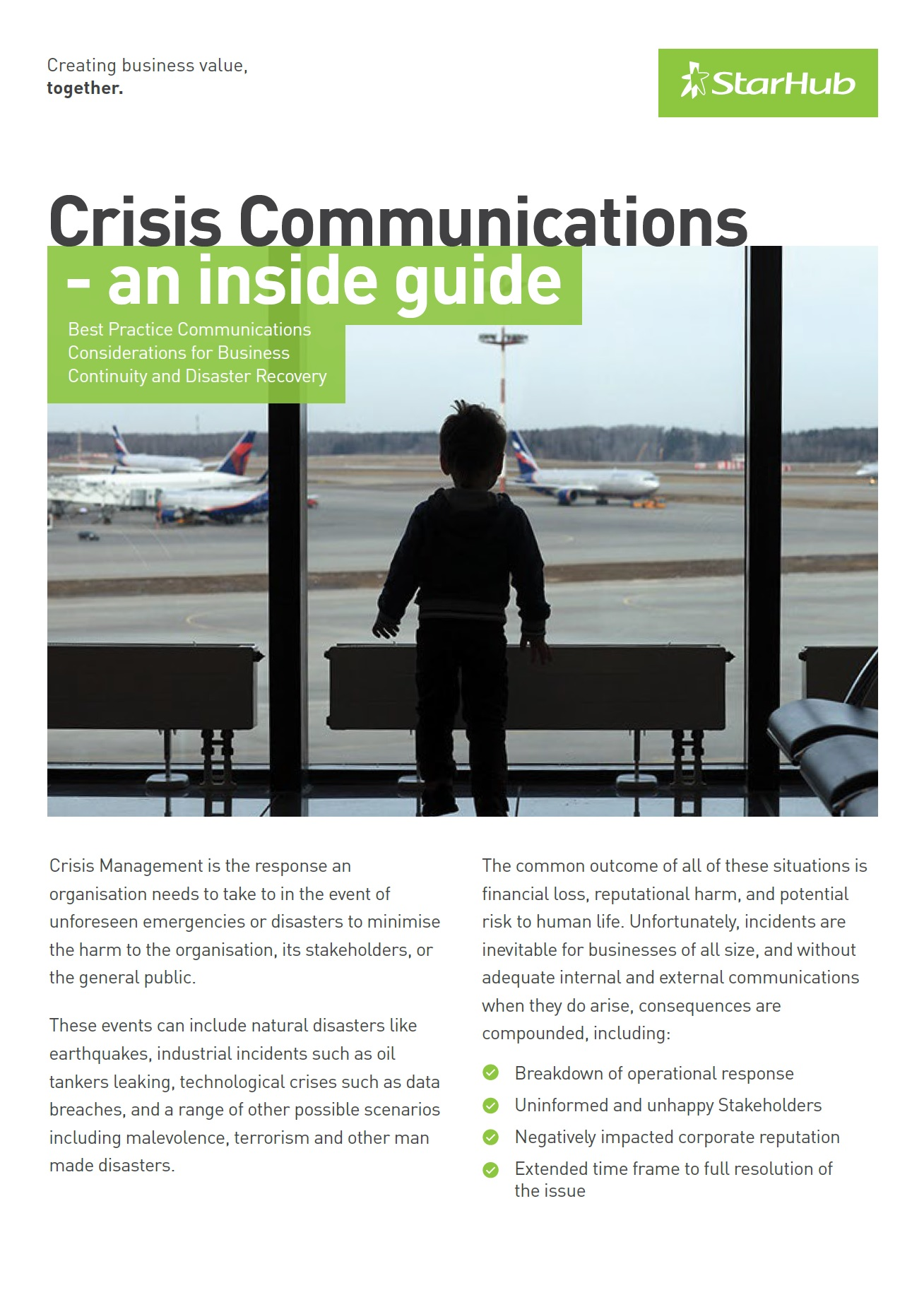 Crisis Communications - an inside guide