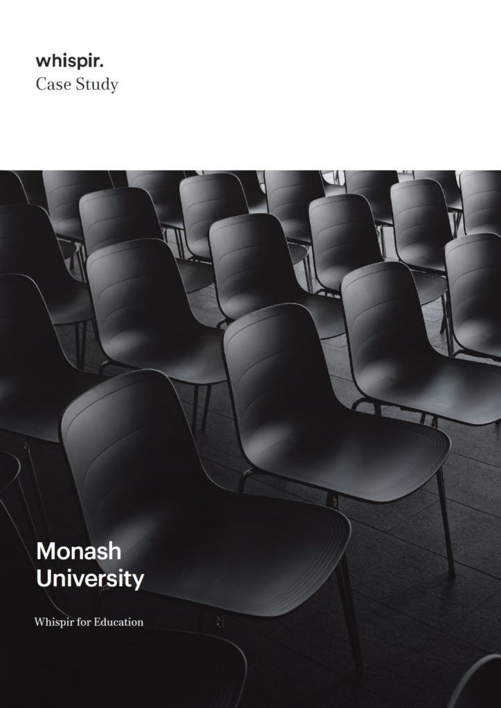Monash University Case Study